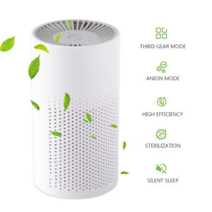 HEPA Air Purifier with 3 Speed Settings, Home Allergies dust Pollen Low Noise