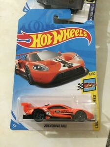 Hot-wheels-Hotwheels-2016-Ford-GT-Race-2018-NEW