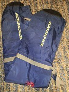Rossignol-Ski-Snowboard-Travel-Bag-Black-Blue-80-034-Long-Flat-12-034-Wide-Huge-Xxl