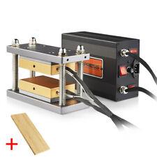 3x5 Caged Rosin Press Plate Kit Diy Heat Press Piars With 20 Ton Shop Press