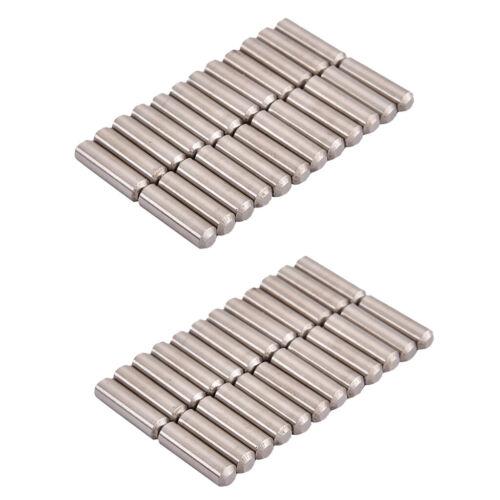 48 Stück Alnico 5 Gitarren Pickup Magnet Stab Pole Slug Pickup Teile 18mm