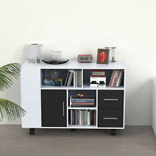 Storage Cabinet Home Office Lateral File Cabinets 2 Drawers Multi Purpose