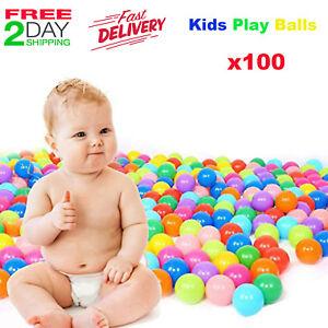 5a4dbcdbc Juguetes Para Niños 100 Vistoso Bolas de Colores Plastico Para Carpa ...