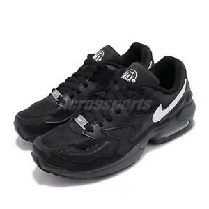 Nike-Air-Max2-Light-Black-White-Men-Running-Casual-Shoes-Sneakers-AO1741-001