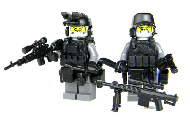 urban sniper team custom army soldiers sku59 made with real lego