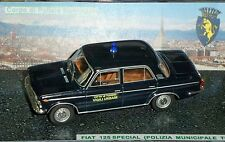 # 1/43 FIAT 125 SPECIAL VIGILI URBANI CITTA' DI TORINO (POLIZIA MUNICIP.) CODE3#