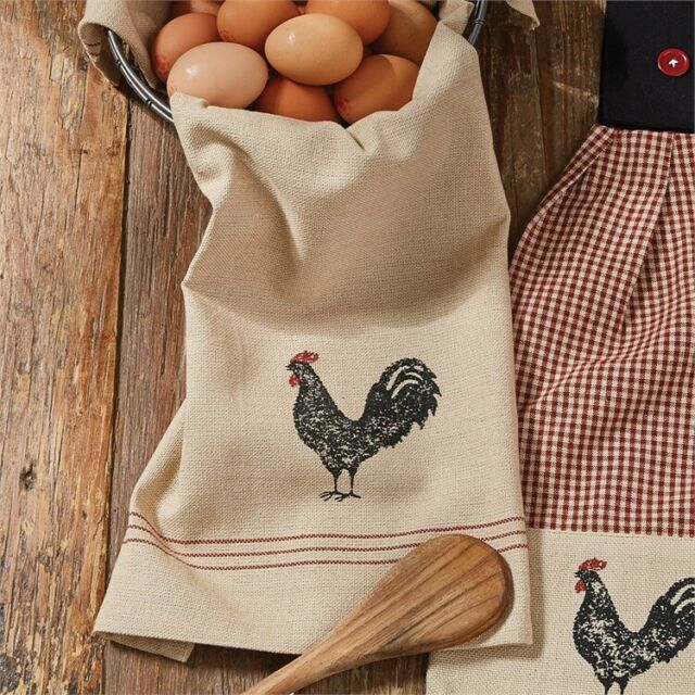 Decorative Dishtowel - Hen Pecked by Park Designs - Kitchen Dining Rooster