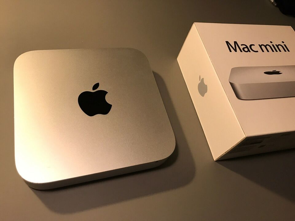 Mac mini, late 2012, 2,5 Ghz dual core i5 GHz