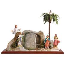 arte religiosa FONTANINI scena vita di cristo - resurrezione presepe pastori