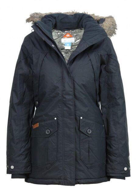 Pour Xs Ebay Noir Femmes Blouson Pass D'hiver Haut Columbia 4APRxzqA