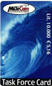 1106 SCHEDA TELEFONICA INTERNAZIONALE USATA MILLECOM TASK FORCE 10.000 5-16 p8BzO2Oz-09121801-144212452