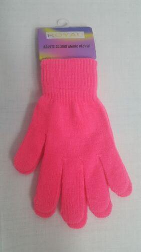 Ladies Magic Gloves Girls Winter Warm Gloves Stretch Gift One Size Soft New