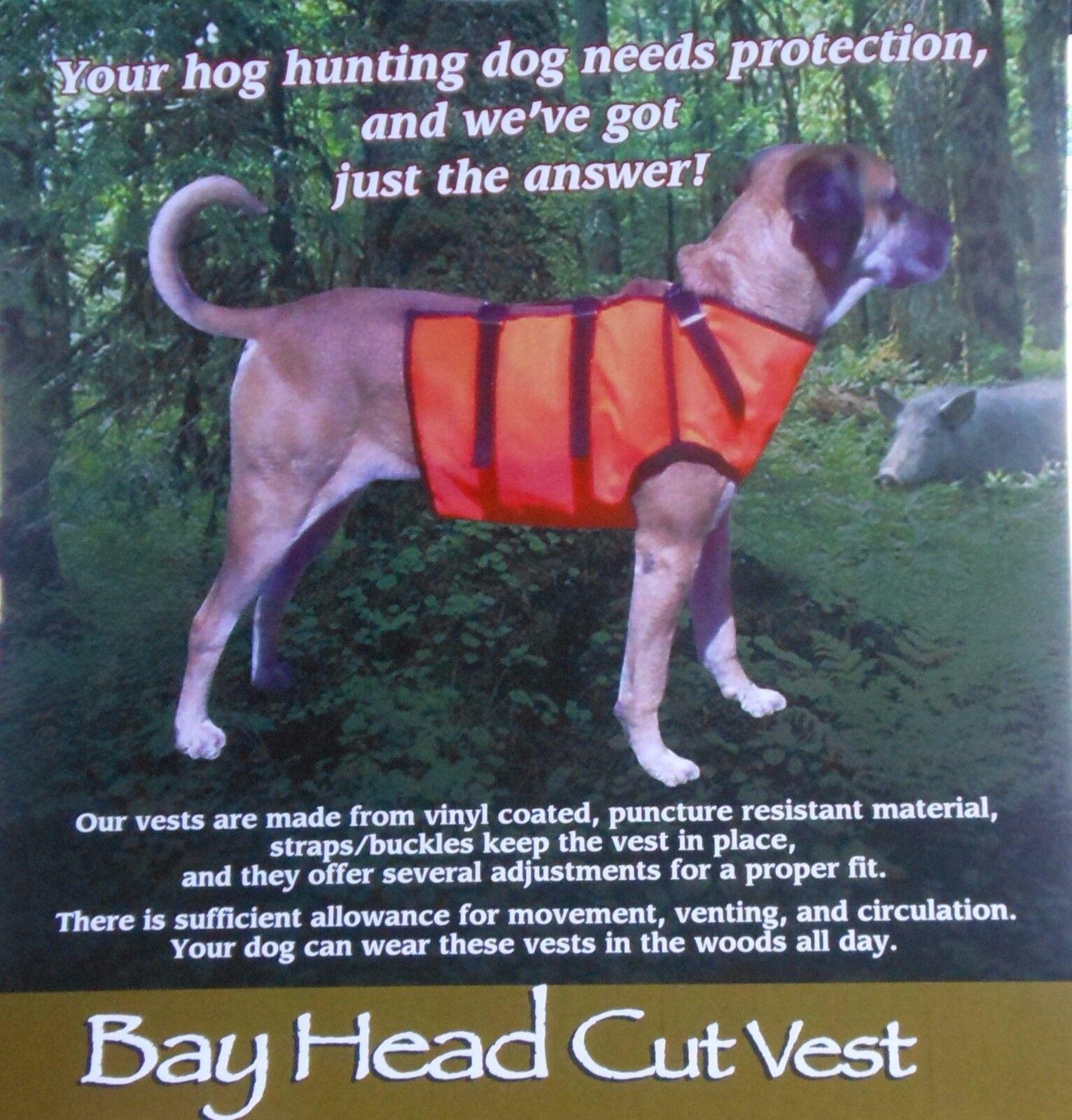 Chaleco de projoección de caza de cerdo para Perros Chaleco Regular Mediano Negro