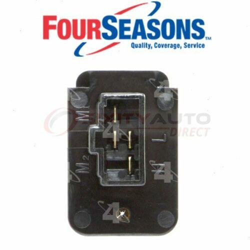 Four Seasons HVAC Blower Motor Resistor for 1988-1989 Toyota Celica 2.0L L4 hw
