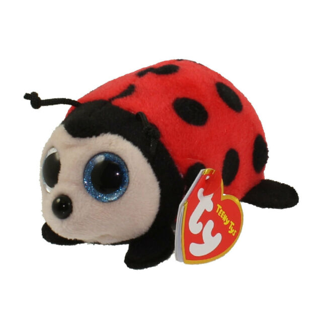 0d2ec8bbd72 Ty Beanie Babies 41238 Teeny TYS Trixie The Ladybug Insect for sale ...