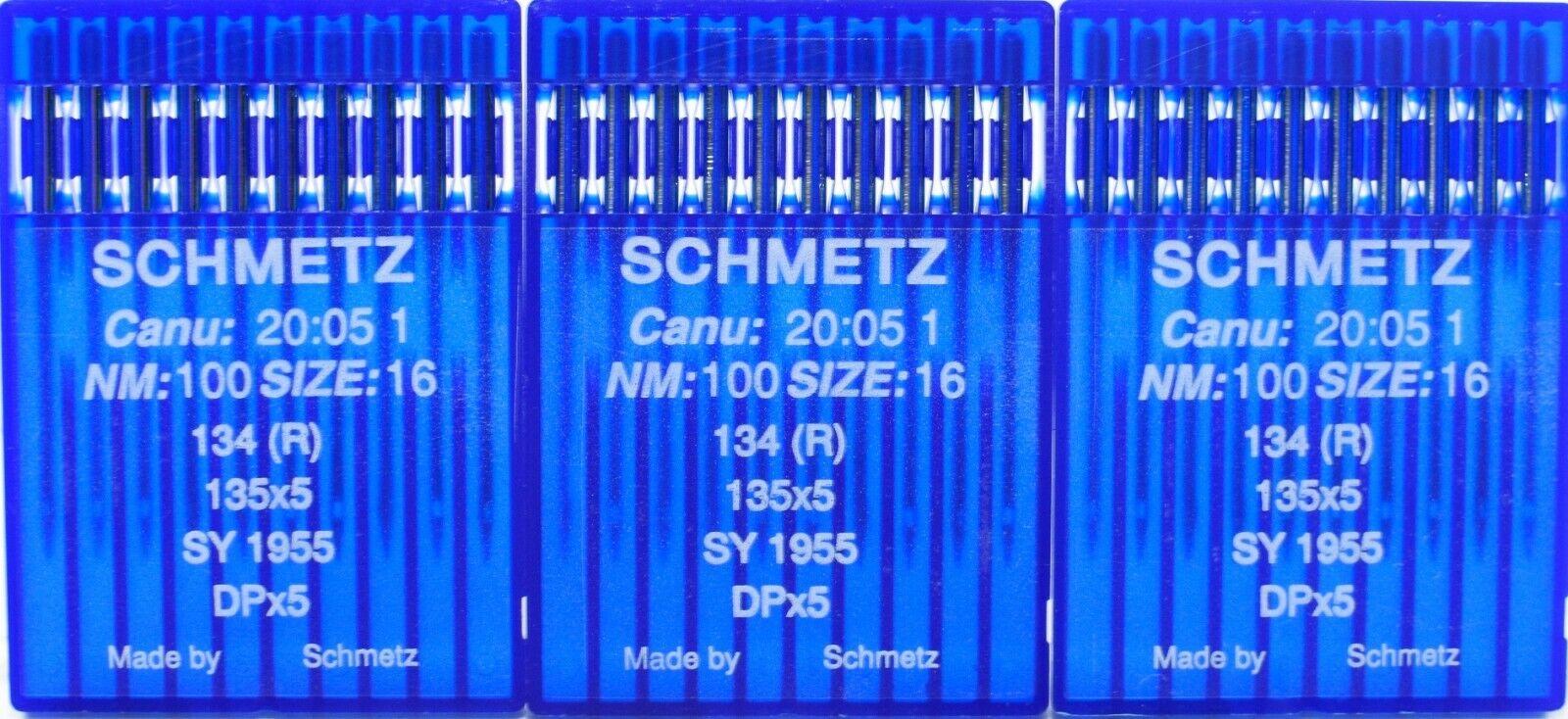R 20 Schmetz Nähmaschinennadeln Universal 134 135x5 NM140
