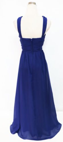 MASQUERADE Navy Evening Prom Formal Gown 1 $140 NWT
