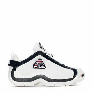Fila-Men-039-s-96-034-Grant-Hill-034-Low-Shoes-NEW-AUTHENTIC-White-Navy-Red-1BM00571-125