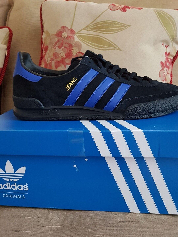 Adidas original jeans  trainers limited edition colourway Größe 11uk