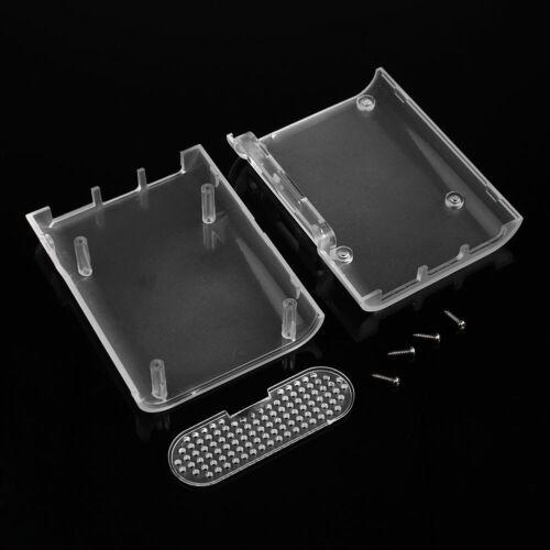 For Raspberry Pi 3 Pi 2 Model B Protective ABS Case Box Enclosure Screws GOOD