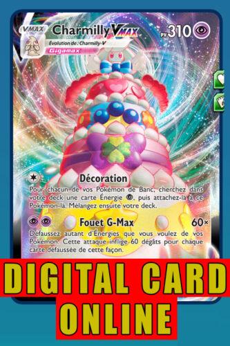 73 V MAX Alcremie VMAX Full Art FA Pokemon Online TCG Card digital 23