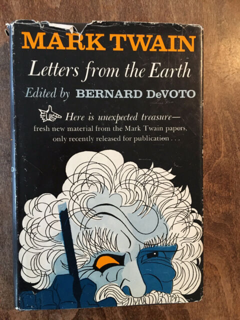 Letters from the Earth by Mark Twain Crest Book R647 First