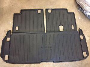 New Oem 2015 2017 Nissan Pathfinder Black Rear Cargo