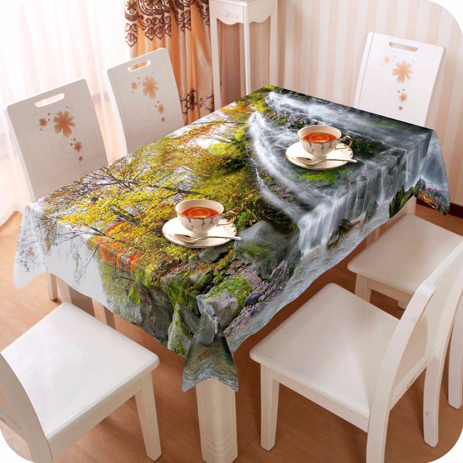Débit 3D Arbre 89 Nappe Table Cover Cloth Fête D'Anniversaire événement AJ papier peint UK