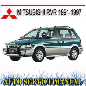 Mitsubishi rvr 1991 1997 workshop repair service manual dvd ebay image is loading mitsubishi rvr 1991 1997 workshop repair service manual asfbconference2016 Images