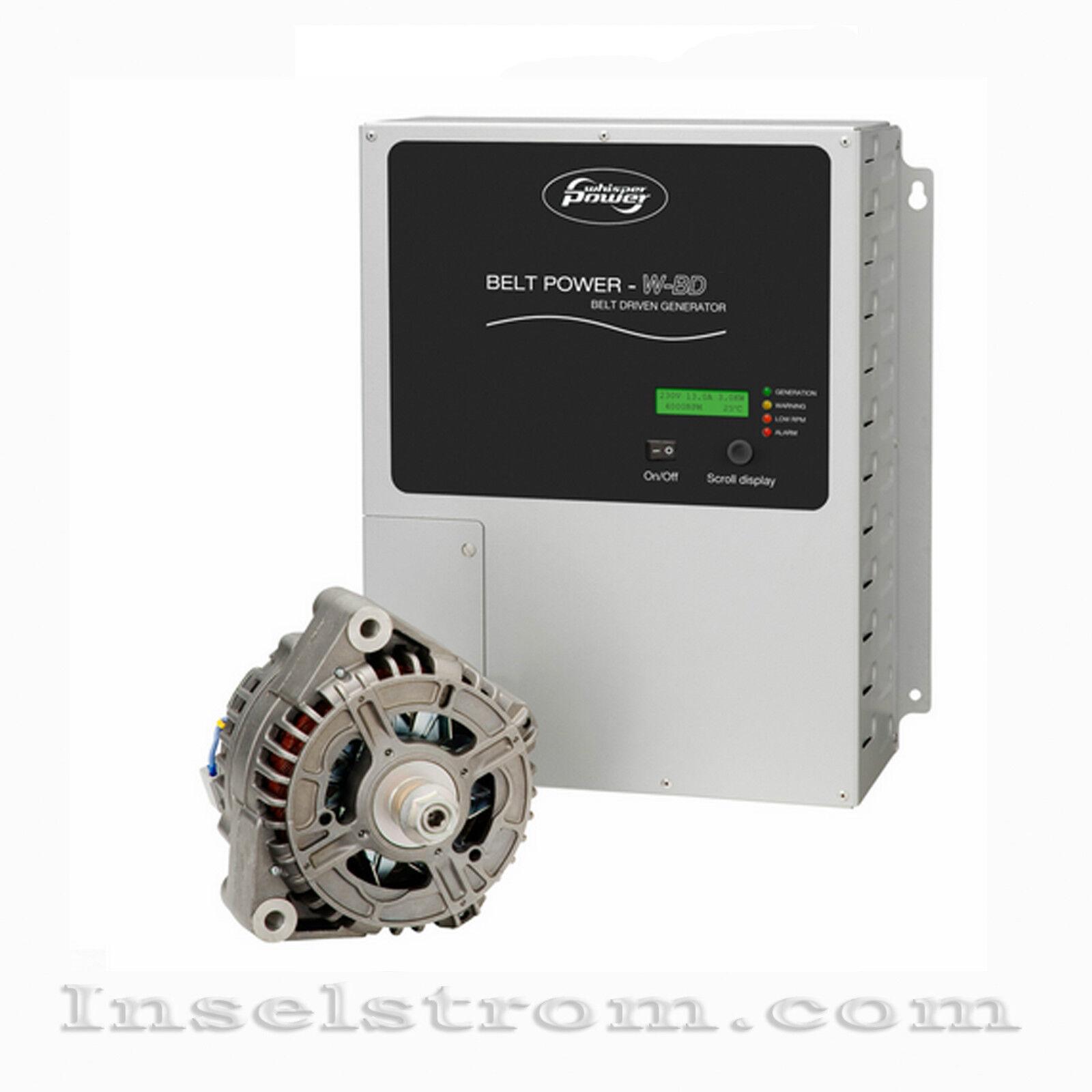 WhisperPower WP-AC Beltpower 5.0  230 Lichtmaschine Volt Wechselstrom Lichtmaschine 230 7db45d