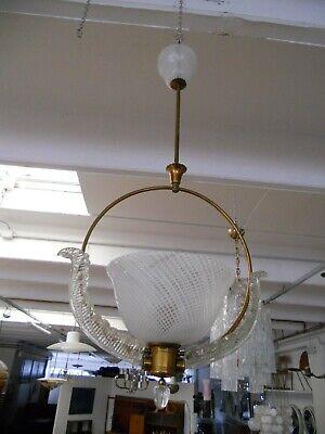 Lampadario Murano Anni 50.Lampadario Murano Anni 50 Italian Murano Glass Chandelier Lamp