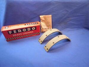BSA-A65-B44-A50-Rear-Brake-Liners-BS9-1-Ferodo-66-70-Lightning-19-7717-NP9437