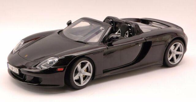 Porsche Carrera GT New in Box motor max die cast collection black 1:18 brand new