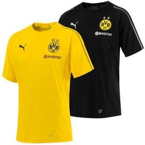 Puma-BVB-Borussia-Dortmund-Herren-Training-Trikot-Jersey-Fan-Fussballtrikot
