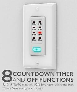 Digital In Wall Switch Gang Countdown Programmable Timer ...