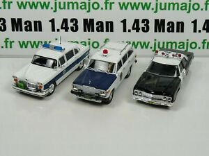 Lot-3-X-1-43-Police-Du-MONDE-USA-IST-Wagoner-Bel-air-Checker-PM34-28-24
