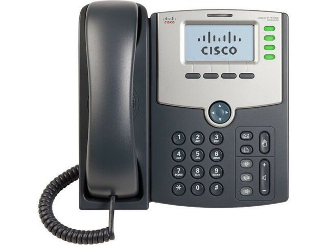 NEW Cisco SPA514G 4 Line IP VoIP Gigabit Telephone Phone PoE