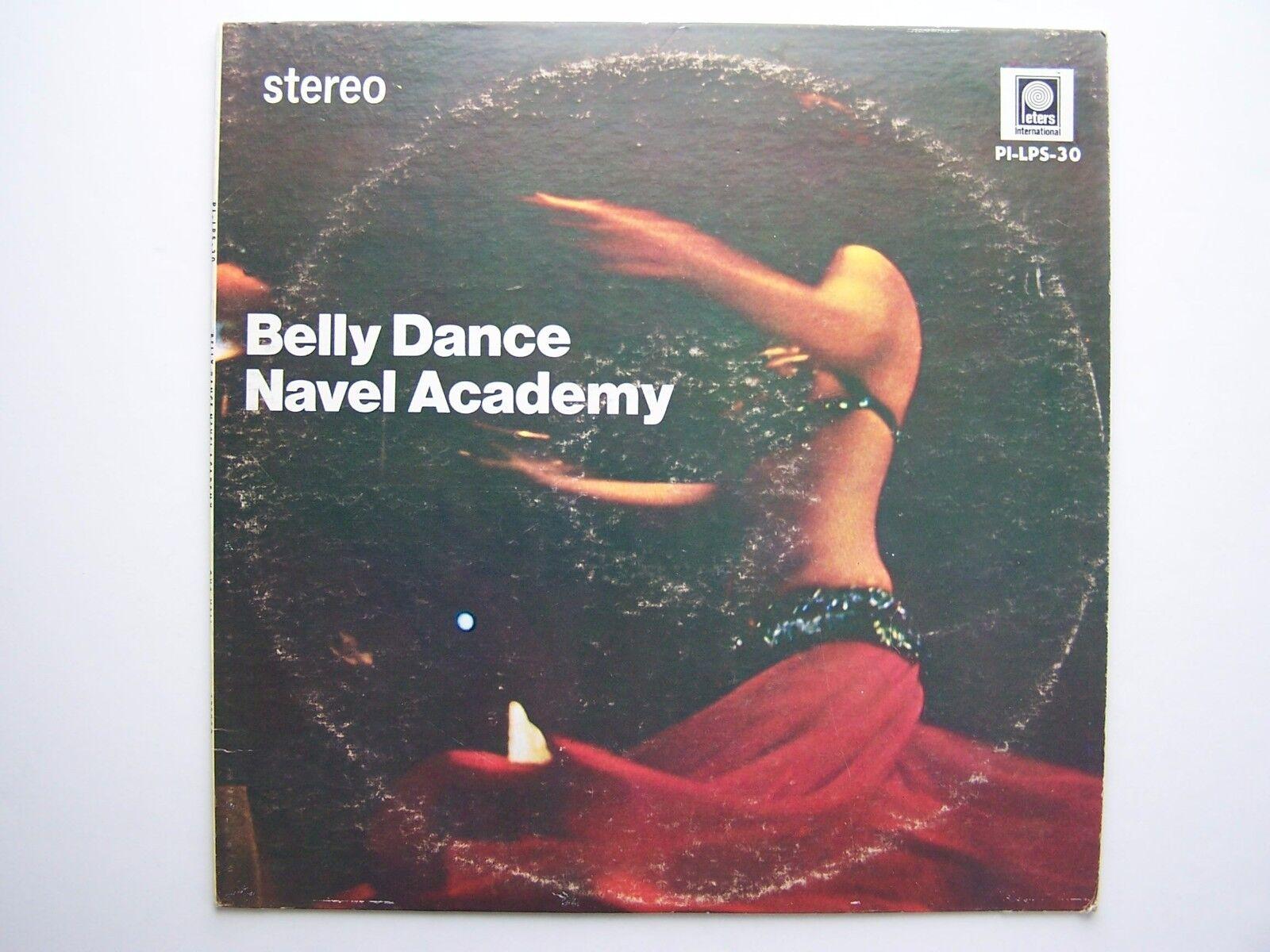 Gus Vali - Belly Dance Navel Academy Vinyl LP Record Al