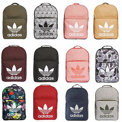 adidas Originals Classic Trefoil Backpack Schulrucksack Tagesrucksack Rucksack | eBay