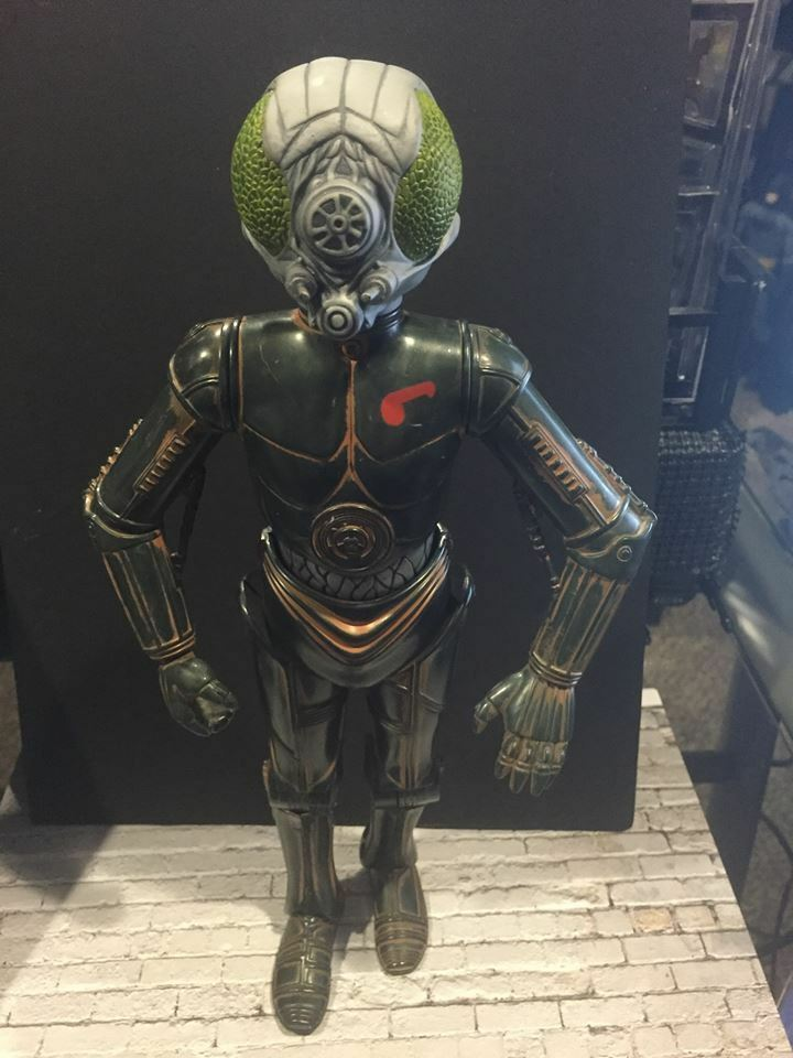 Star wars 4LOM BOUNTY HUNTER Power of the force   1 6 12  size