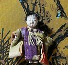 ANTIQUE JAPANESE MINIATURE GOFUN DOLL.