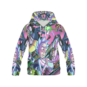 Rick-and-Morty-Men-039-s-Hoodie-Tracksuit-Top-Sweater