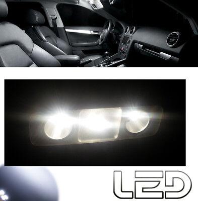 Audi A3 8p Kit éclairag Intérieur 6 Ampoules Led Blanc Plafonnier Avant Arrière