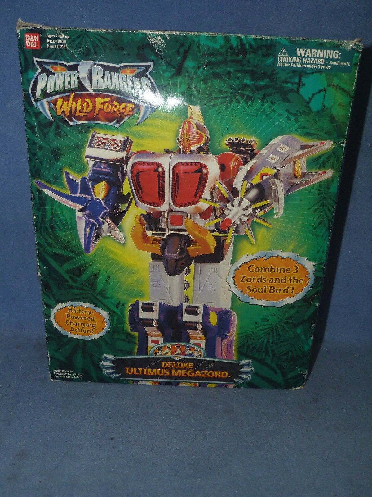 Power Rangers Wild Force ULTIMUS Megazord MINT IN BOX