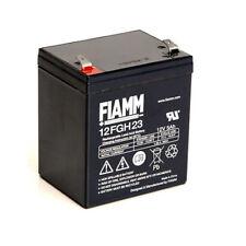 Fiamm 12FGH23 Batteria al piombo 12V 5Ah AGM alta corrente di scarica UPS