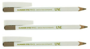 BOURJOIS-UNE-brillant-Yeux-Crayon-Eye-liner-paillettes-marron-G20-pack-de-3