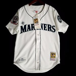 newest 28880 d6d94 100% Authentic Ken Griffey Jr Mitchell Ness 95 Mariners MLB ...