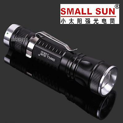 SMALL SUN 400 METER 1000 Lumen TACTICAL CREE XP-G LED ZOOMABLE FLASHLIGHT G1USA