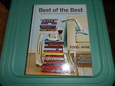 Food & Wine  - Best of The Best Cookbook - 2008 - Hardcover