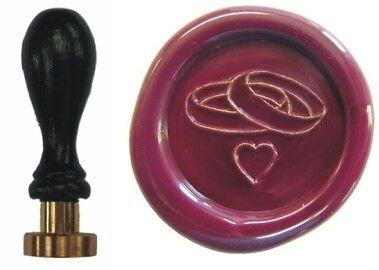 Udig Siegel Stempel Petschaft Eheringe 24 mm Siegelstempel Hochzeit Heirat Ring